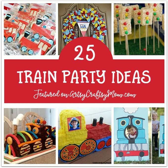 Kids Train Decor  25 Awesome Train Birthday Party Ideas for Kids