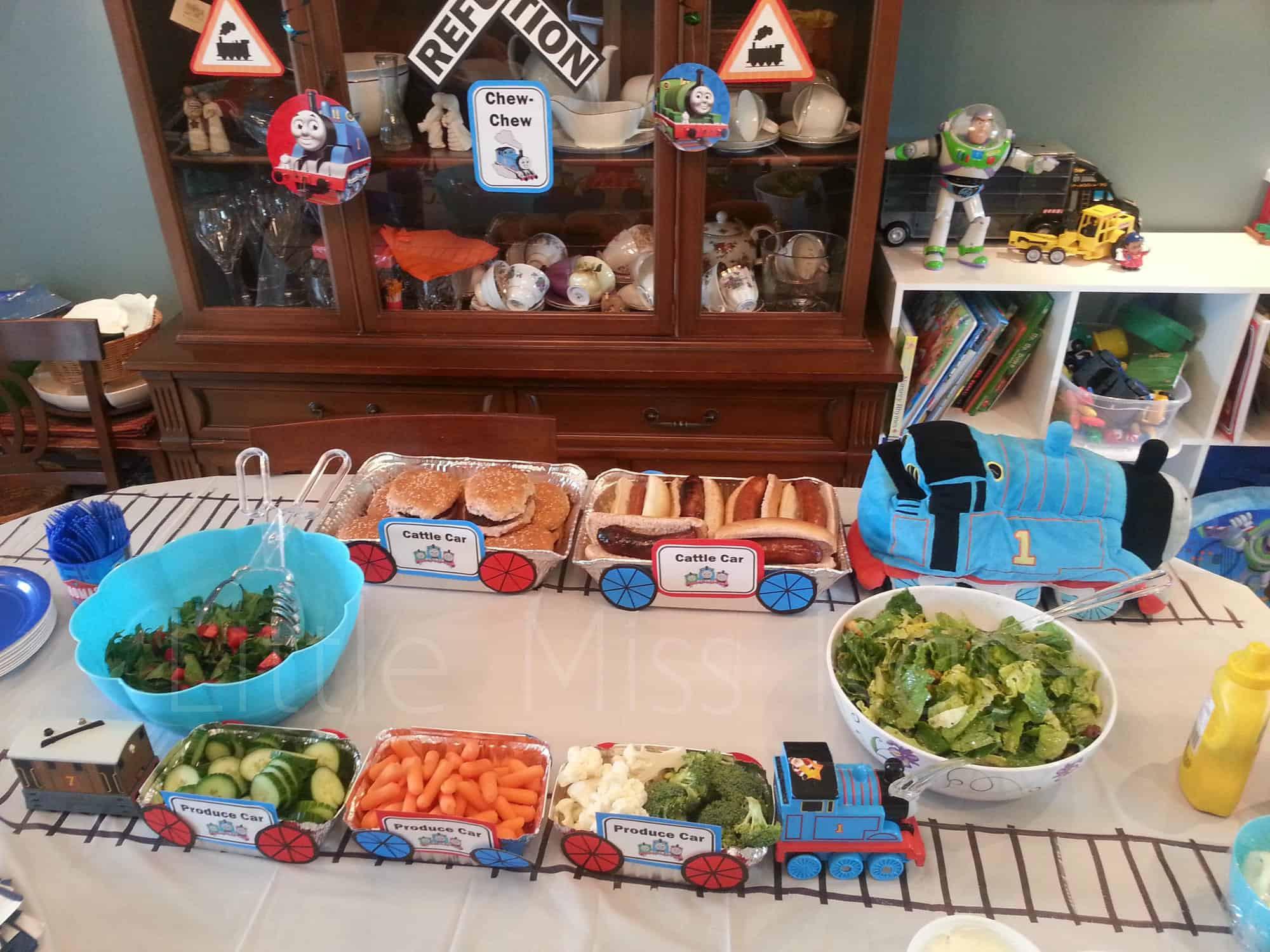 Kids Train Decor  Kids Birthday Party Ideas Thomas the Train Party Ideas
