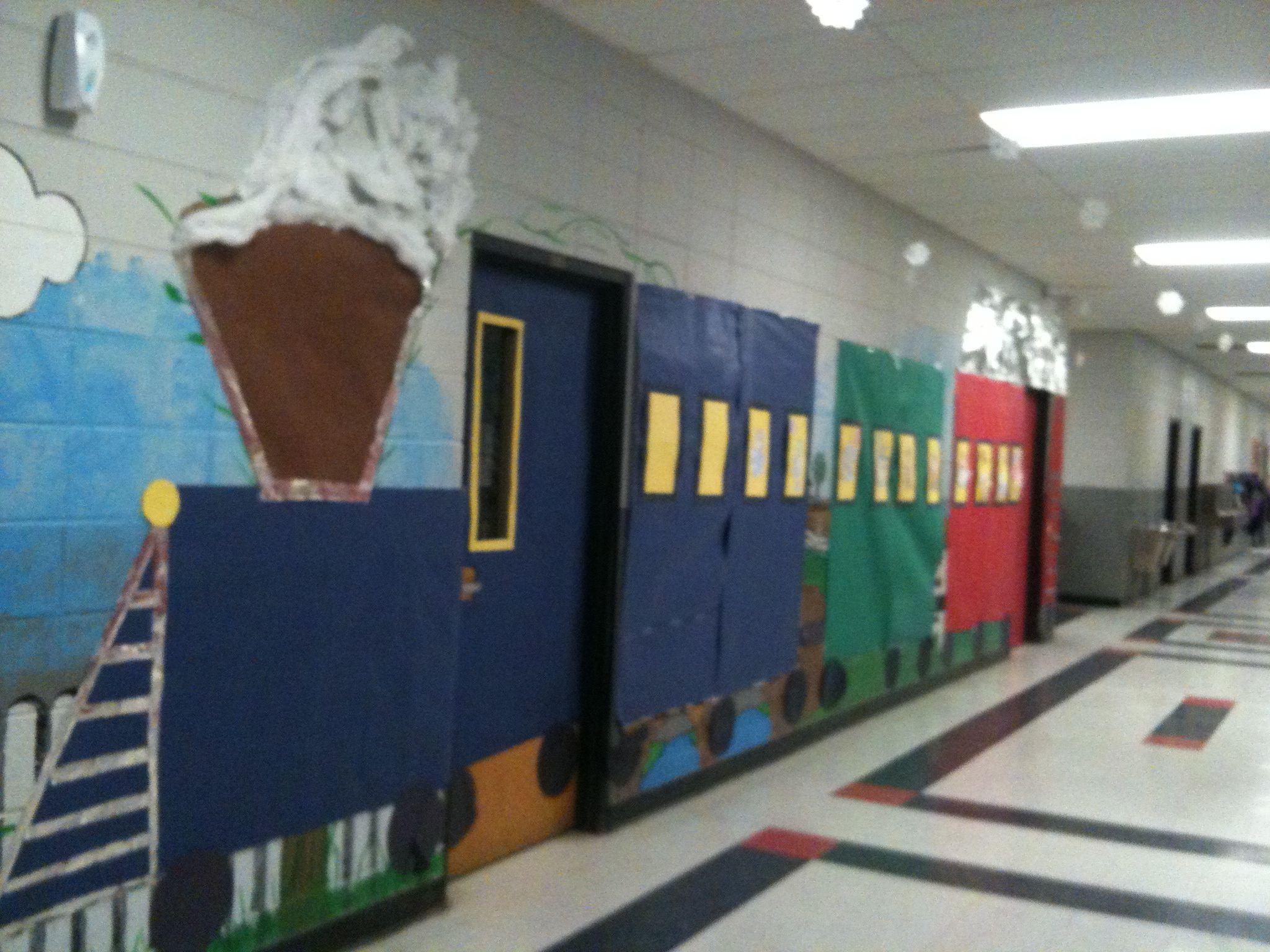 Kids Train Decor  Classroom train