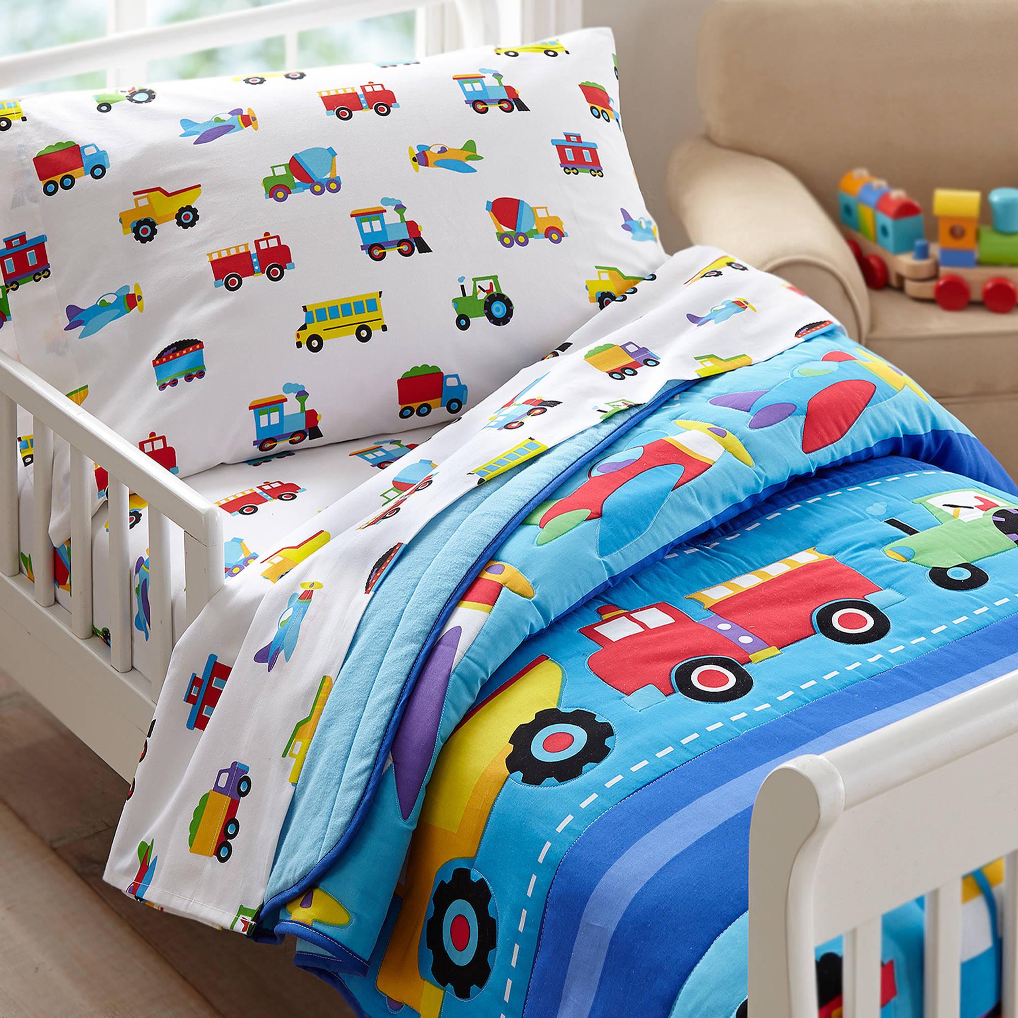 Kids Train Decor  Olive Kids Trains Planes Trucks Toddler Bedding