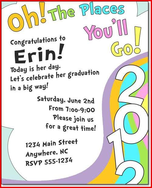 Kindergarten Graduation Quotes  Preschool Graduation Quotes Dr Seuss