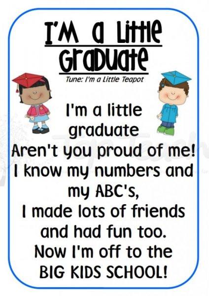 Kindergarten Graduation Quotes  Cute Preschool Graduation Quotes QuotesGram