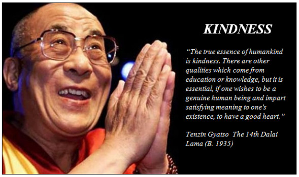 Kindness Quotes Dalai Lama  random acts of kindness