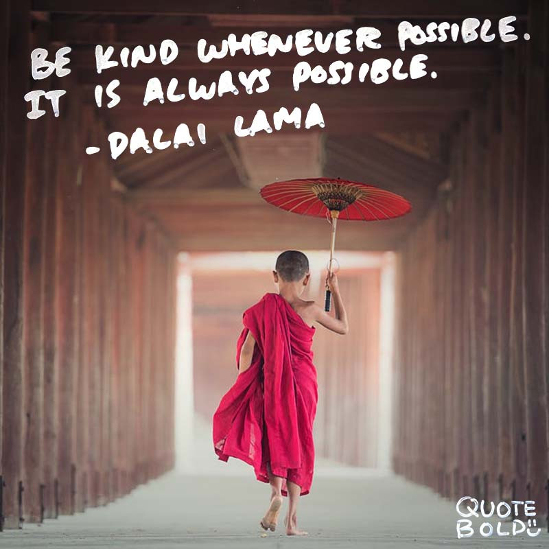 Kindness Quotes Dalai Lama  52 Kindness Quotes [ Tips and FREE eBook] QuoteBold