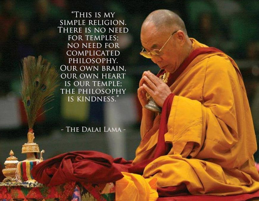 Kindness Quotes Dalai Lama  Sounds Like Kindness