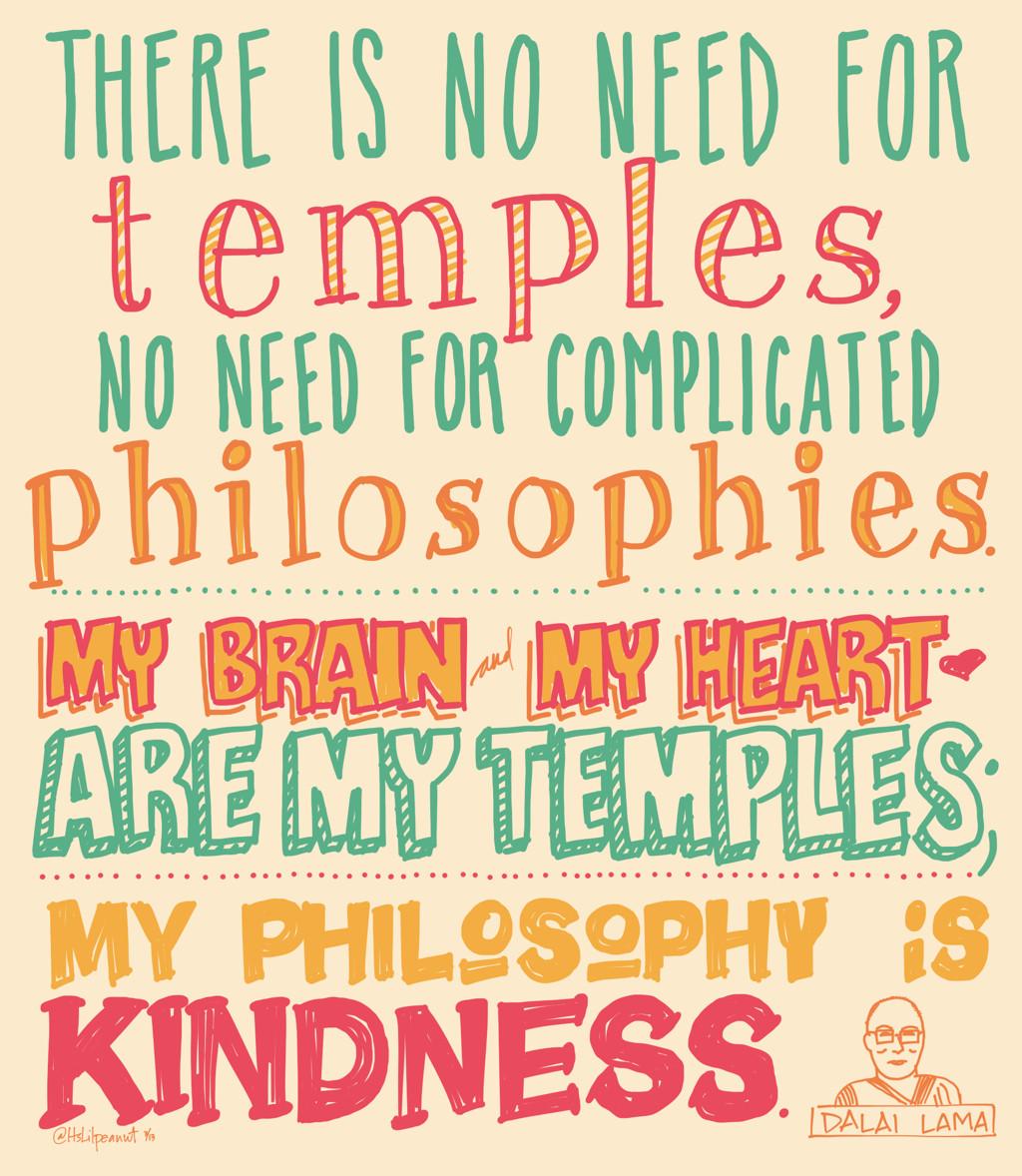 Kindness Quotes Dalai Lama  Dalai Lama