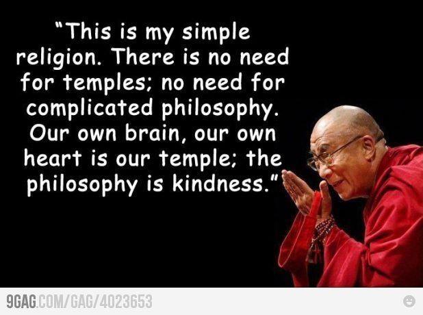 Kindness Quotes Dalai Lama  Kindness Dalai Lama Words of Wisdom