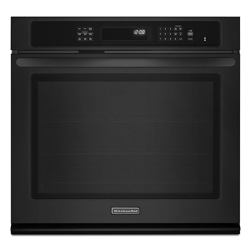 """Kitchen Aid Wall Oven  KitchenAid KEBS109BBL 30"""" Built in Single Wall Oven"""
