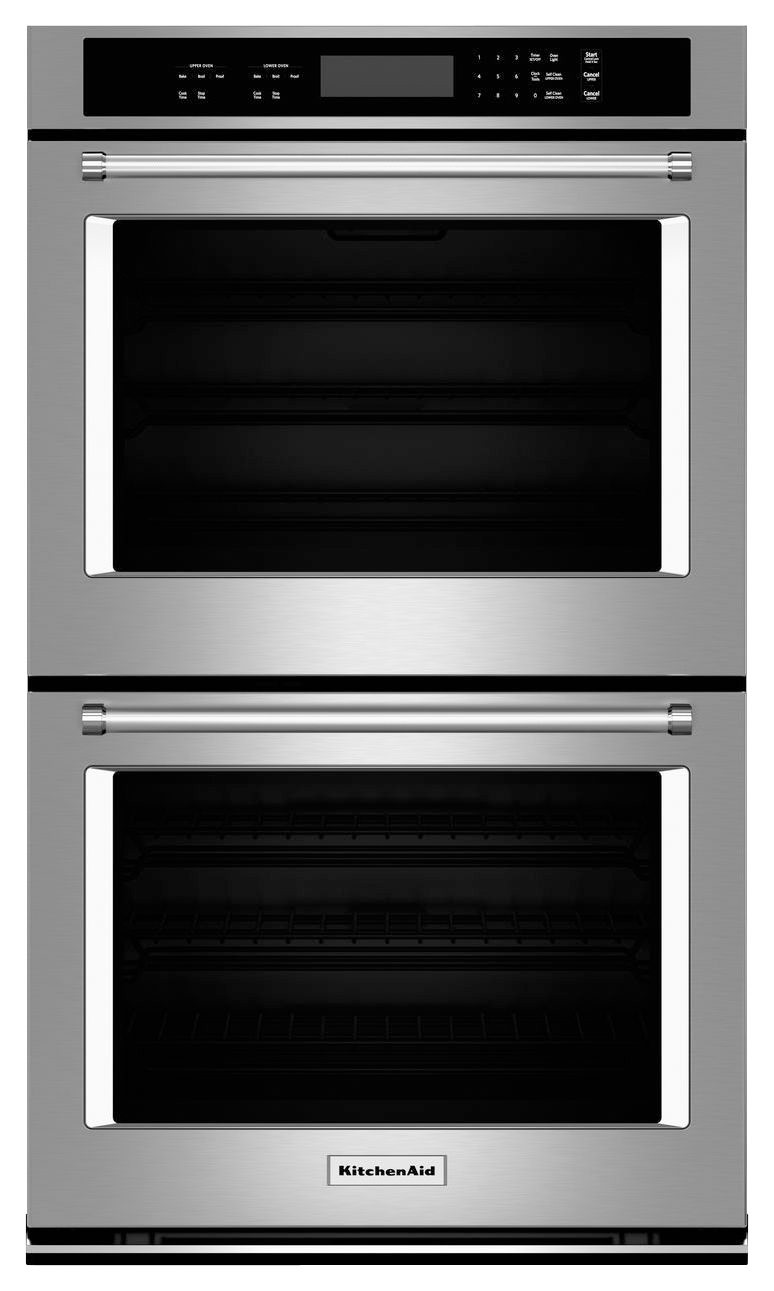 """Kitchen Aid Wall Oven  KitchenAid 30"""" Built In Double Electric Wall Oven"""