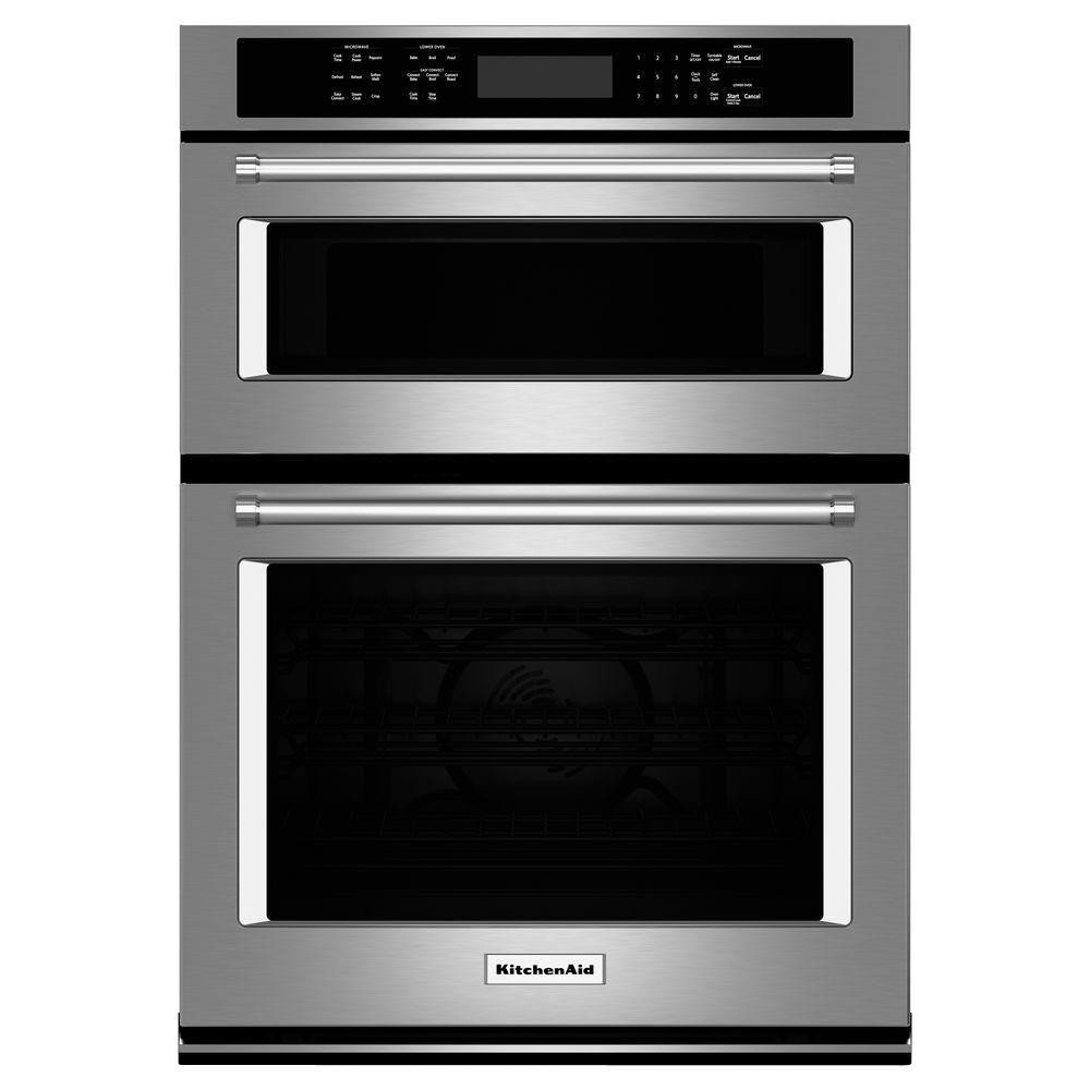 Kitchen Aid Wall Oven  KitchenAid 30 in Electric Even Heat True Convection Wall