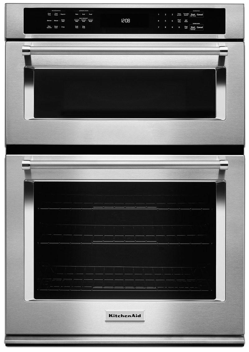 "Kitchen Aid Wall Oven  KitchenAid 30"" bination Wall Oven with Even Heat™ True"