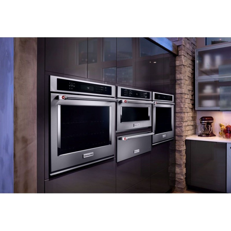 """Kitchen Aid Wall Oven  KitchenAid KOSE500ESS 30"""" Single Wall Oven True Convection"""