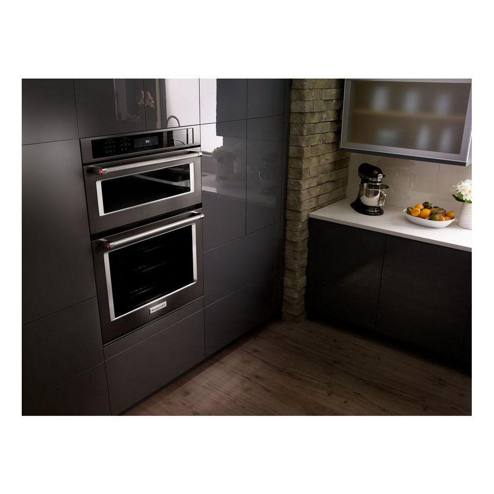 "Kitchen Aid Wall Oven  KOCE500ESS KitchenAid 30"" 6 4 Cu Ft Microwave"
