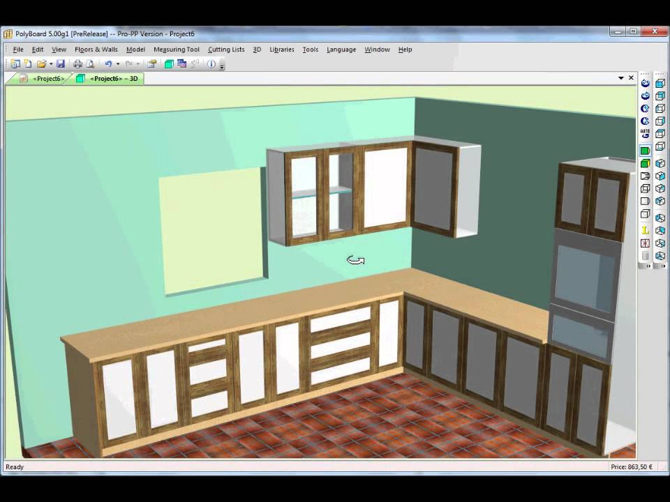 Kitchen Cabinet Designing Software  Kitchen Design using Cabinet Software