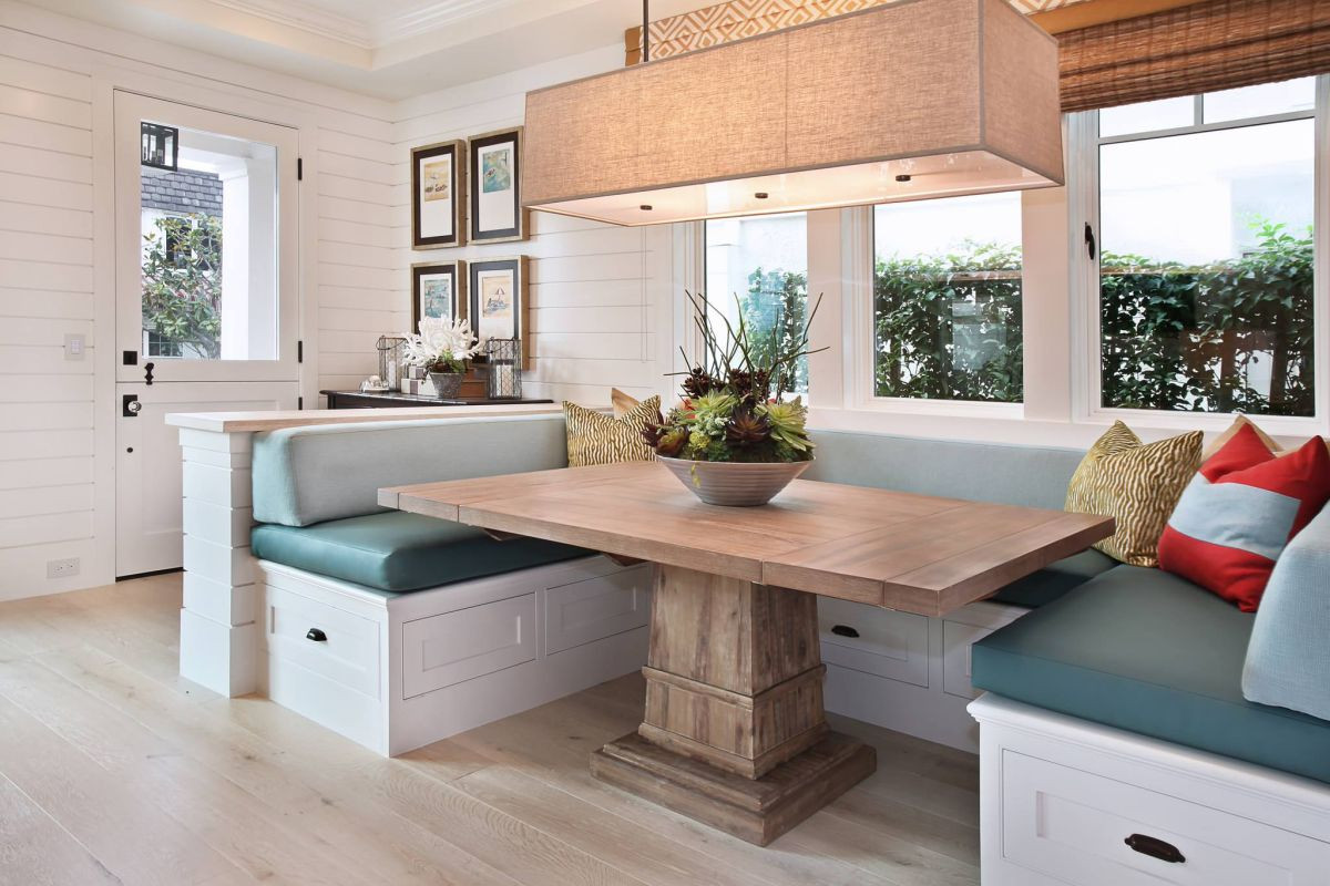 Kitchen Nook Bench With Storage  30 Breakfast Nook Bench Ideas That Will Cheer Up Your Mornings