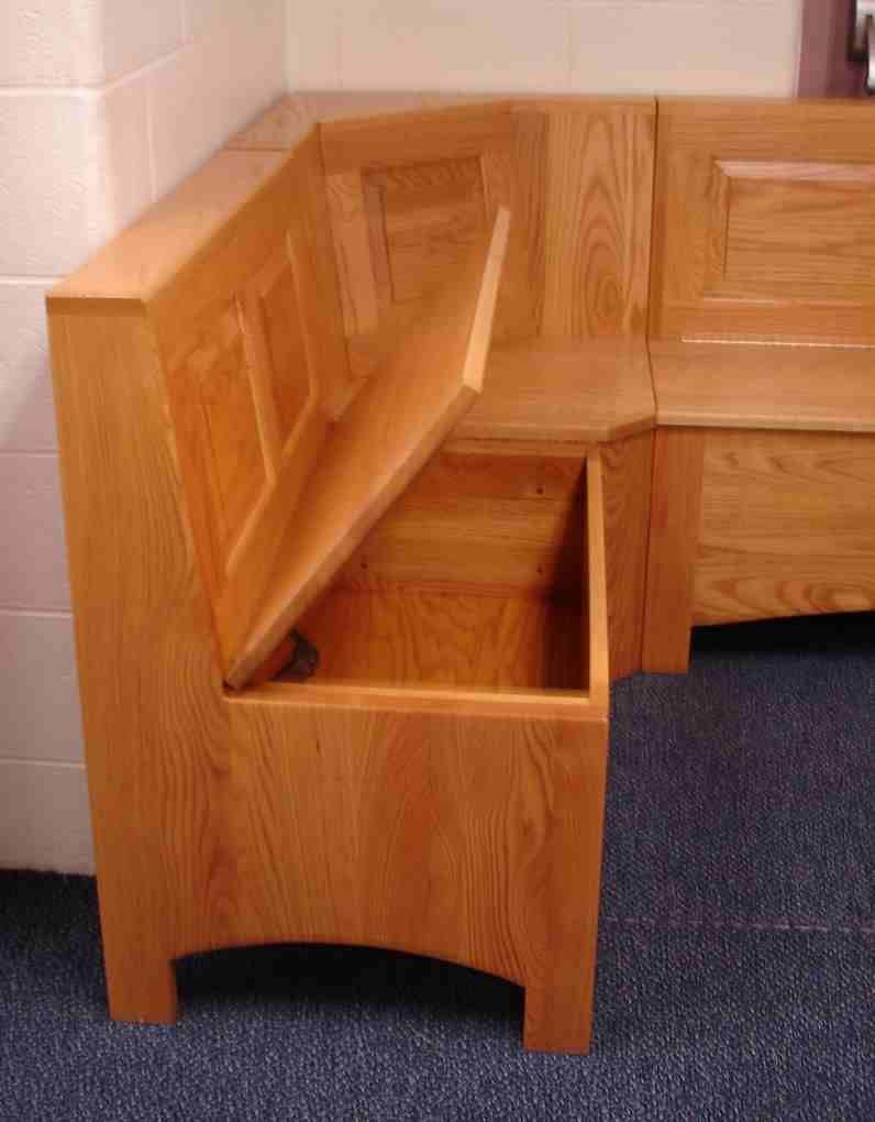 Kitchen Nook Bench With Storage  Breakfast nook bench storage Kitchen Ideas