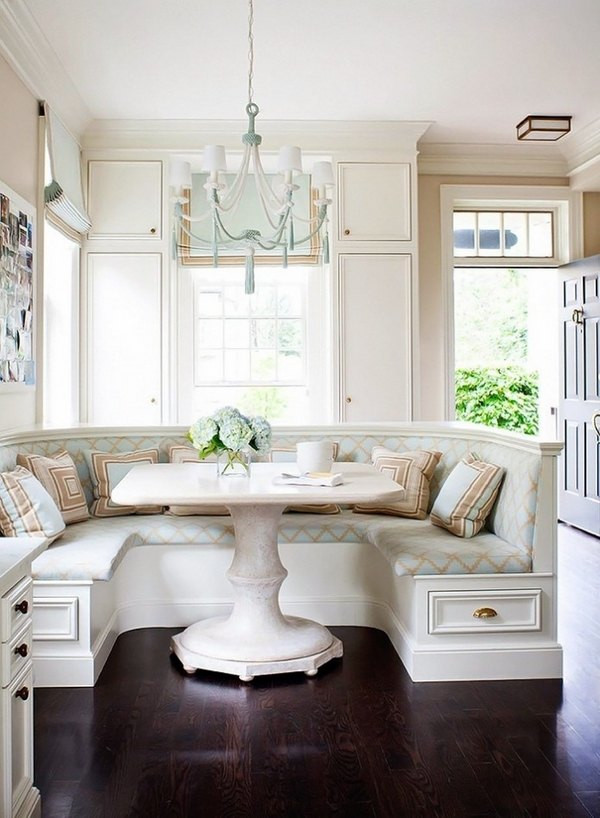 Kitchen Nook Bench With Storage  How to arrange an adorable breakfast nook in the kitchen