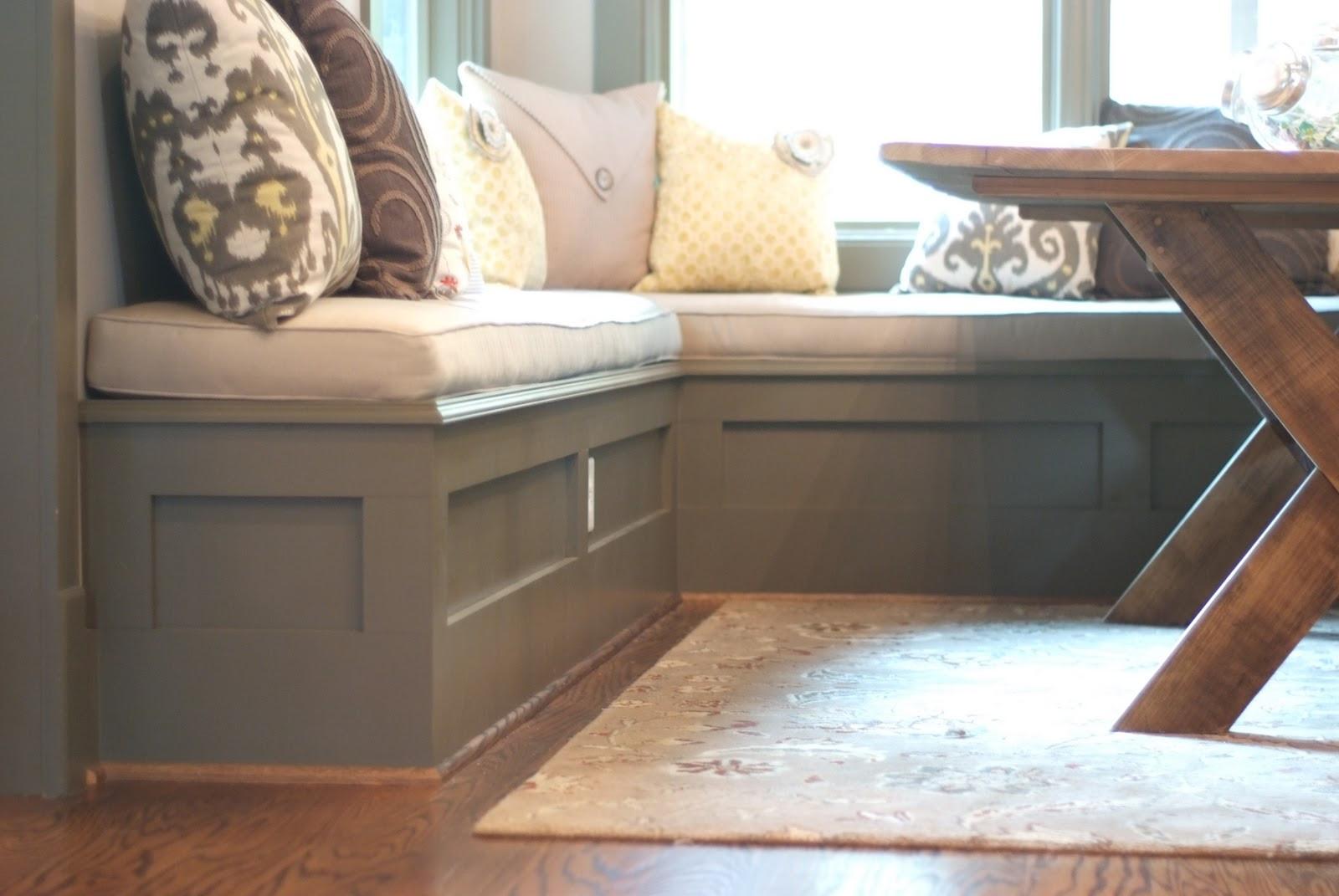 Kitchen Nook Bench With Storage  Kiwi Wood Werks & Designs & Designs custom breakfast