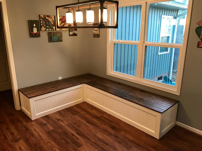 Kitchen Nook Bench With Storage  Banquette Corner bench kitchen seating L shaped bench