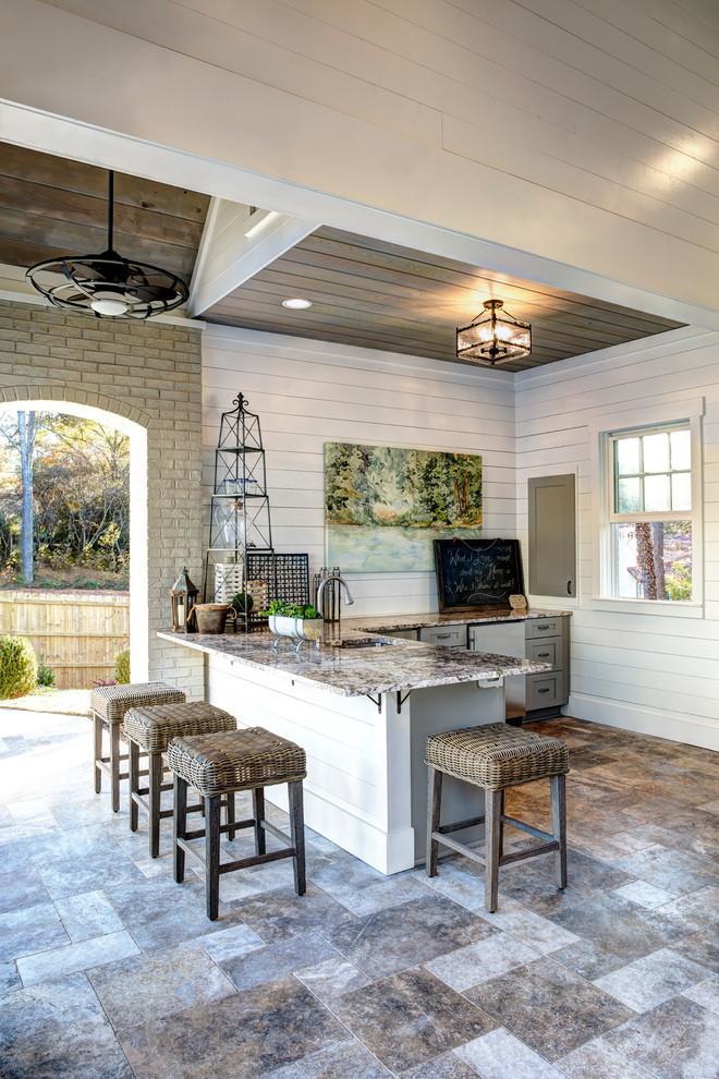 Kitchen Remodel Atlanta  Atlanta Country Club Home Poolhouse Eclectic Kitchen