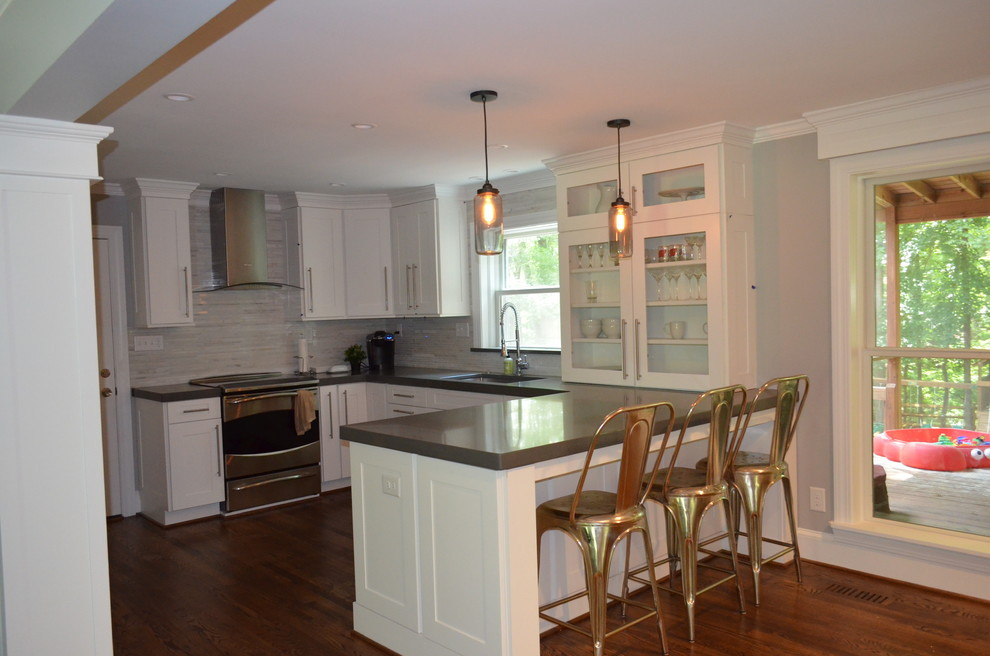 Kitchen Remodeling Raleigh Nc  Raleigh NC Kitchen Remodel Transitional Raleigh