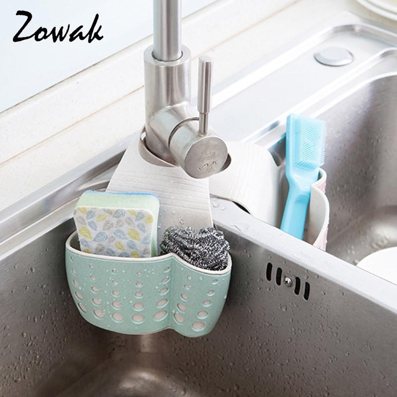 Kitchen Soap Caddy Organizer  Aliexpress Buy Hanging Sponge Holder Kitchen Sink