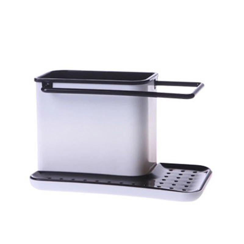 Kitchen Soap Caddy Organizer  Codream Kitchen Sponge Holder Sink Caddy Organizer Soap