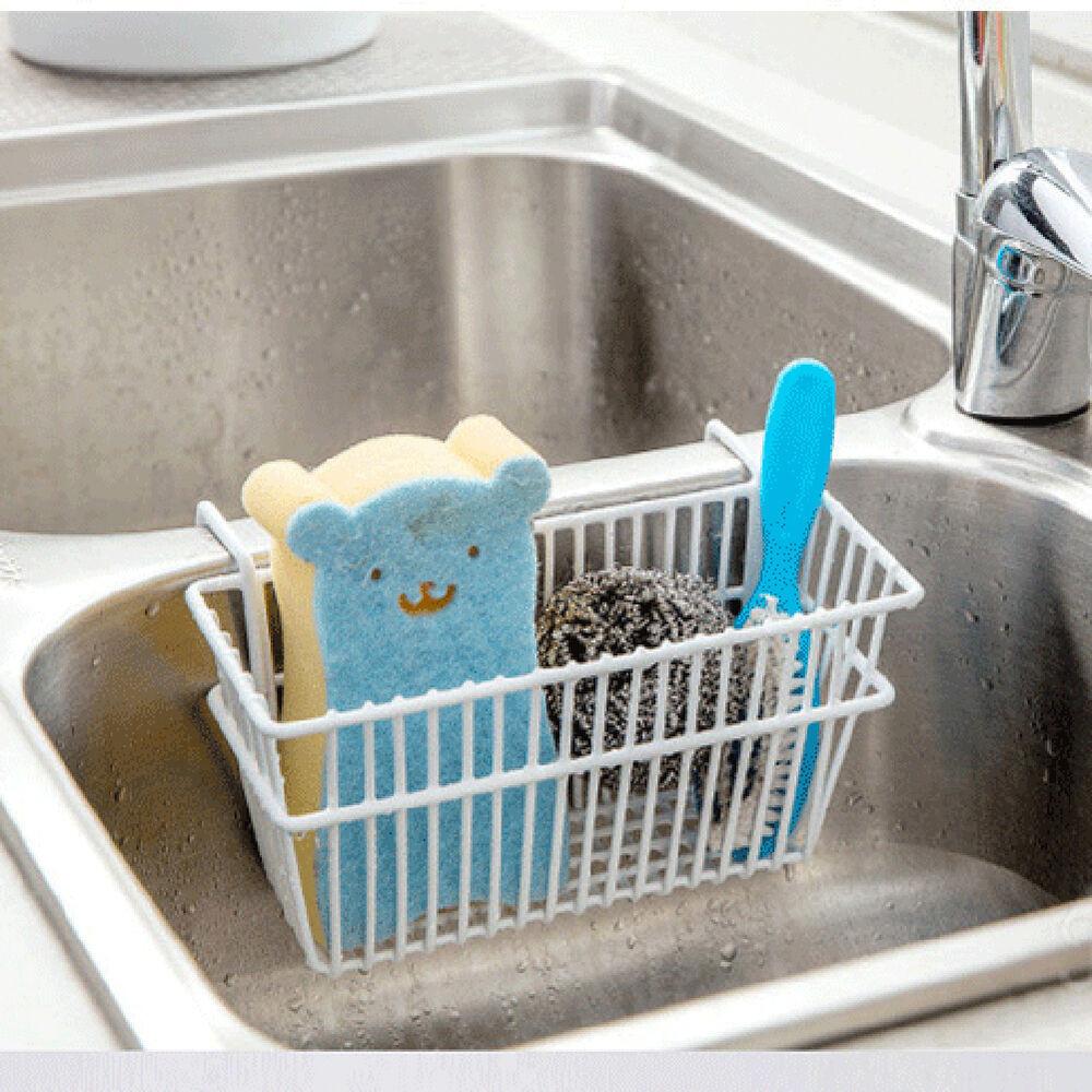 Kitchen Soap Caddy Organizer  Hot Kitchen Sponge Holder Sink Caddy Brush Soap