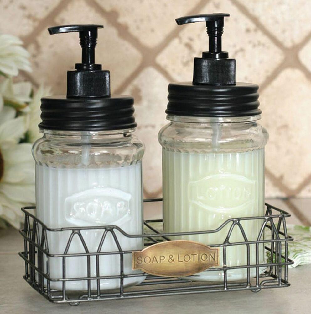 Kitchen Soap Caddy Organizer  Hoosier Kitchen Cabinet Soap Lotion Dispenser Bath Caddy