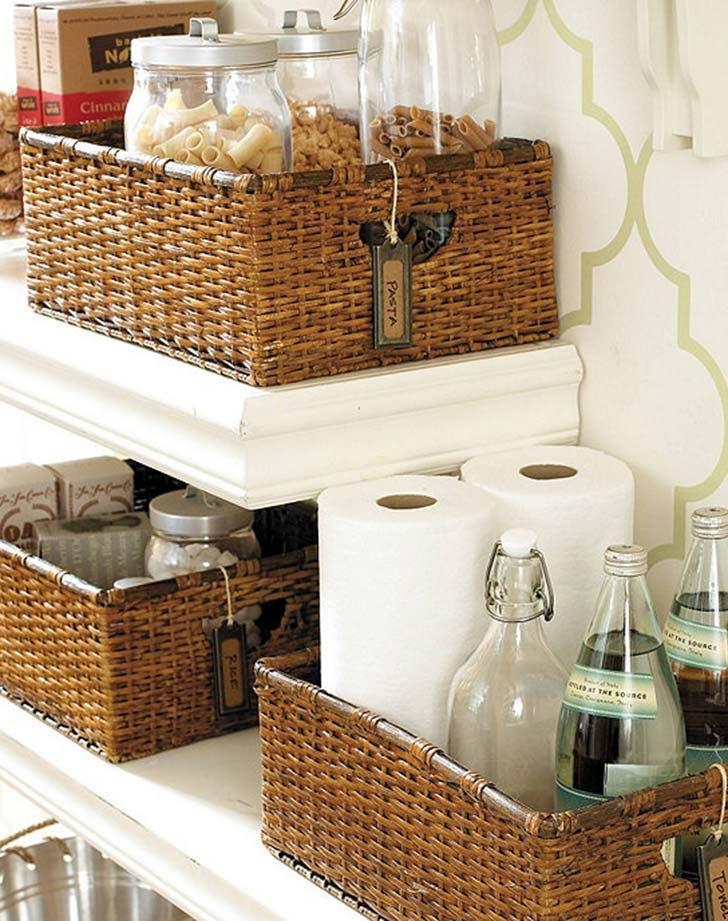 Kitchen Storage Baskets  How to Add Extra Kitchen Storage PureWow