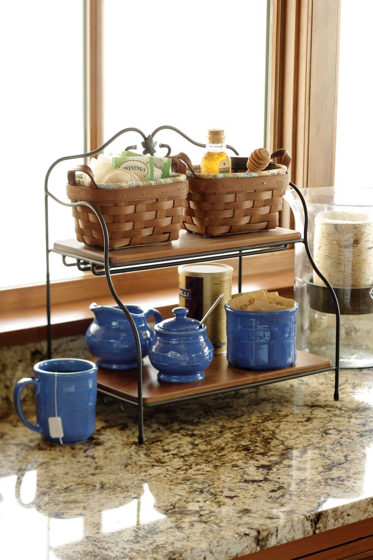 Kitchen Storage Baskets  Storage Friendly Accessory Trends for Kitchen Countertops