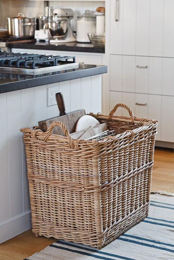 Kitchen Storage Baskets  5 creative kitchen storage ideas you can diy