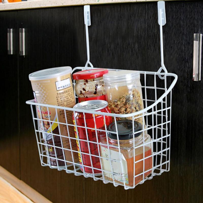 Kitchen Storage Baskets  Door Storage Basket Practical Kitchen Cabinet Drawer