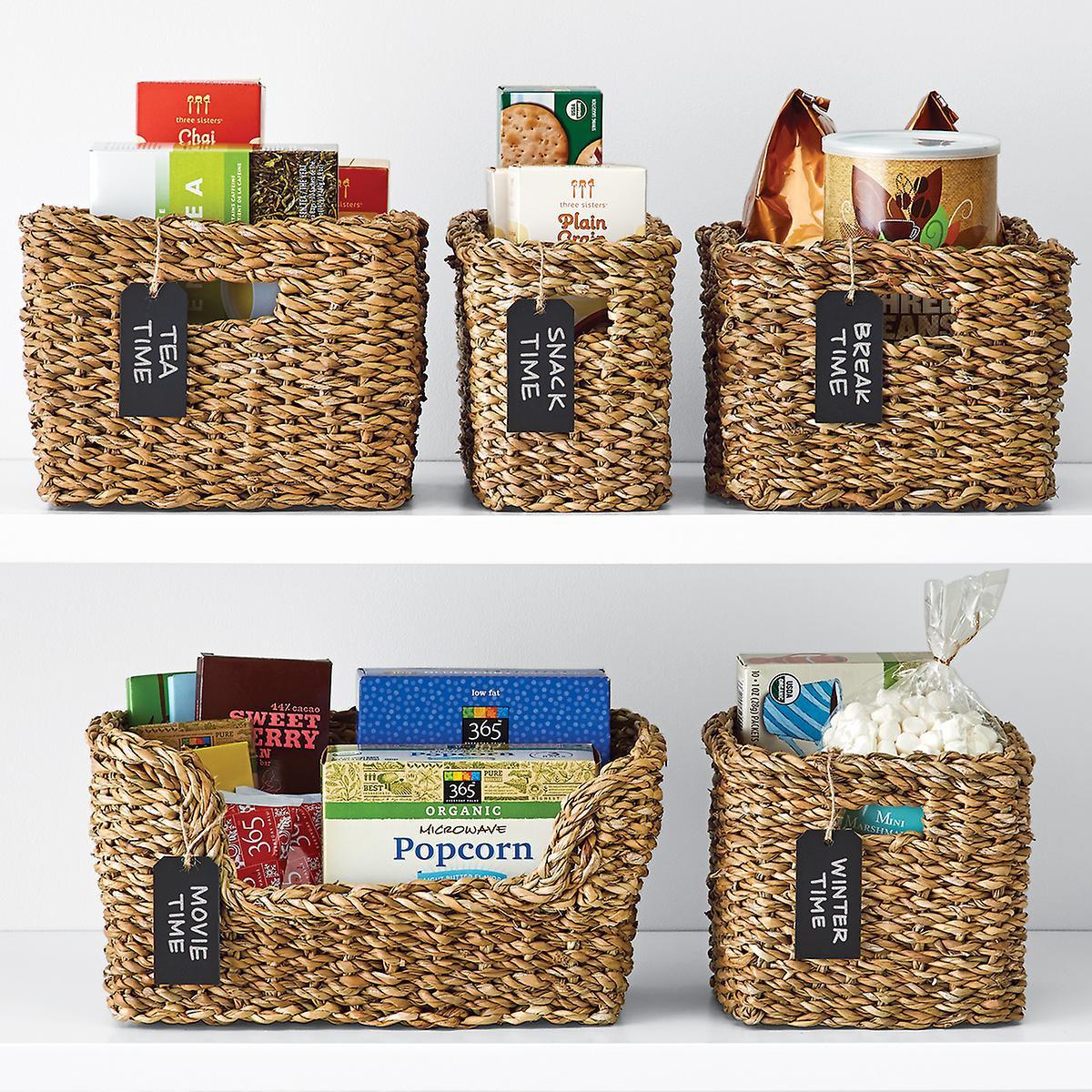 Kitchen Storage Baskets  Hogla Storage Bins