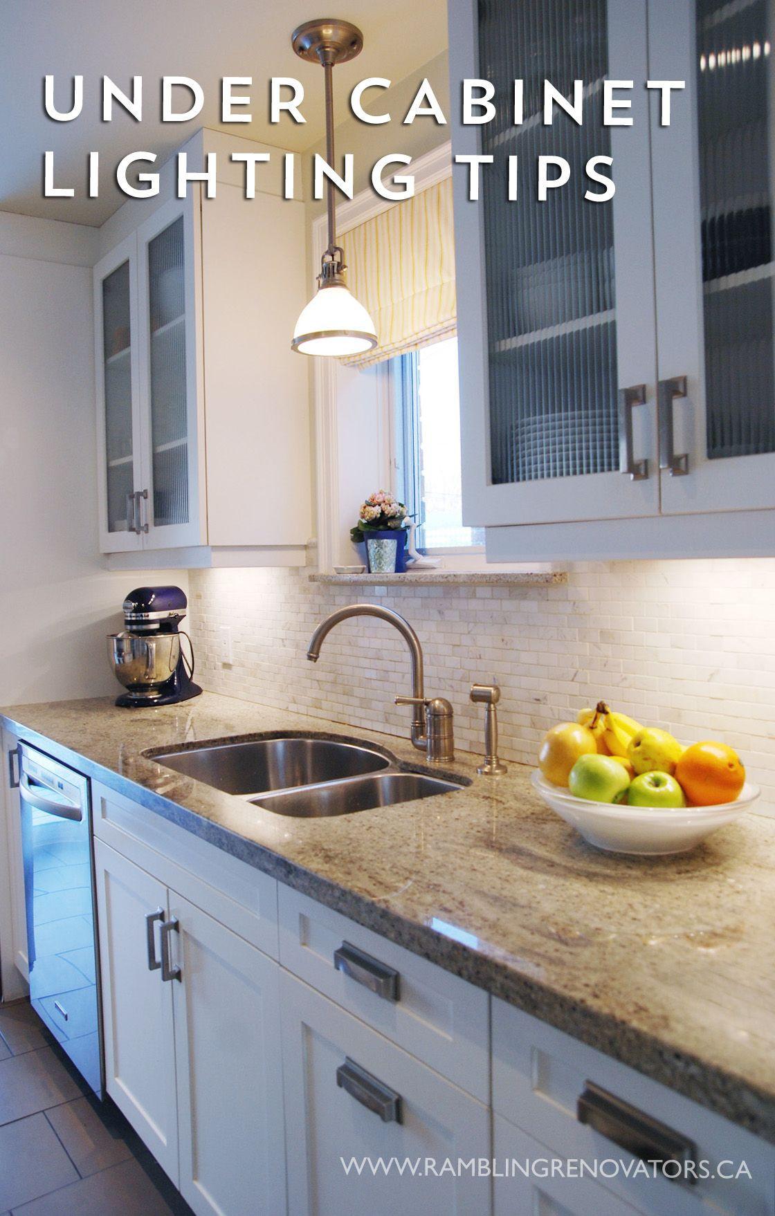 Kitchen Under Cabinet Lighting Options  Under Cabinet Lighting Options