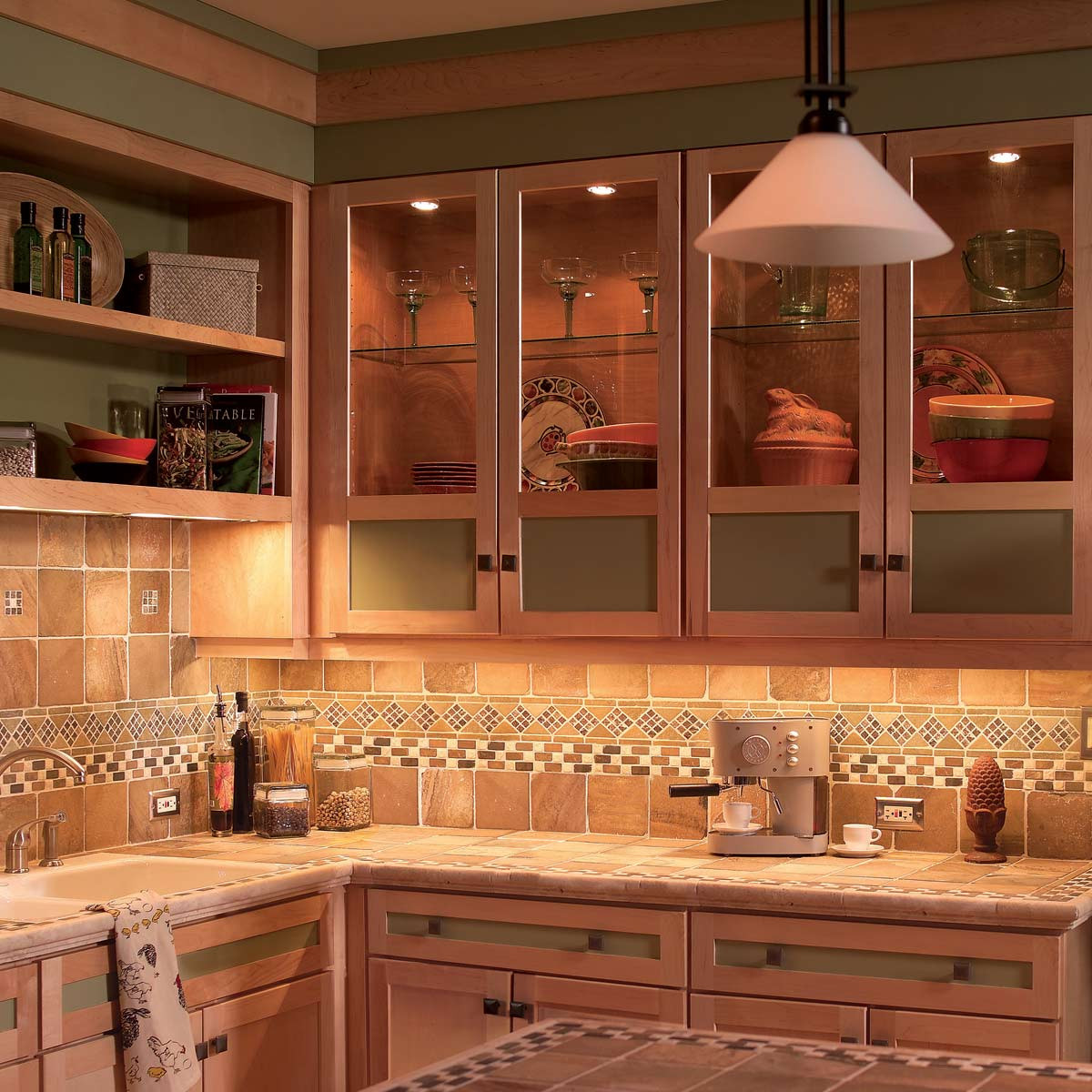 Kitchen Under Cabinet Lighting Options  How to Install Under Cabinet Lighting in Your Kitchen