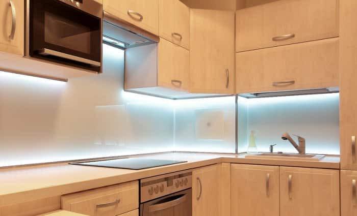 Kitchen Under Cabinet Lighting Options  Lighting Options for Inside and Under Your Kitchen