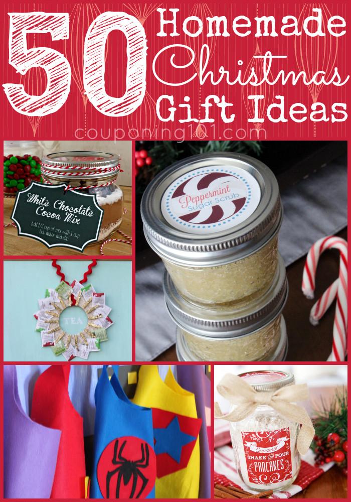 Last Minute Holiday Gift Ideas  50 DIY Christmas Gift Ideas