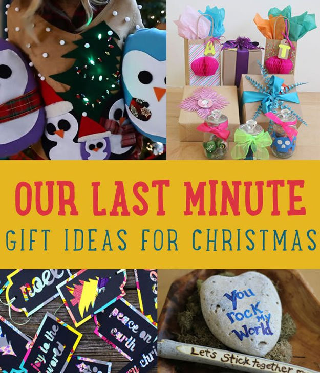 Last Minute Holiday Gift Ideas  Our Last Minute Gift Ideas for Christmas