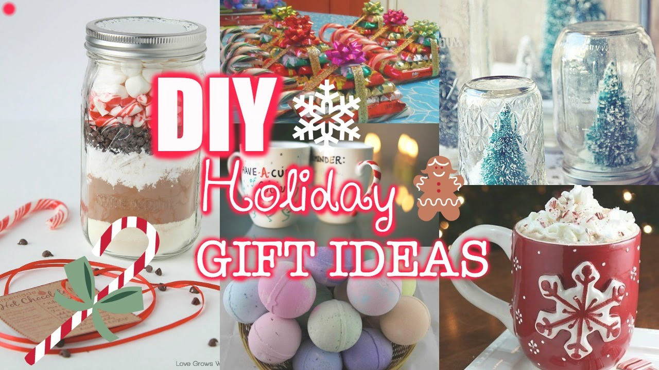 Last Minute Holiday Gift Ideas  Last Minute DIY Holiday Gift Ideas
