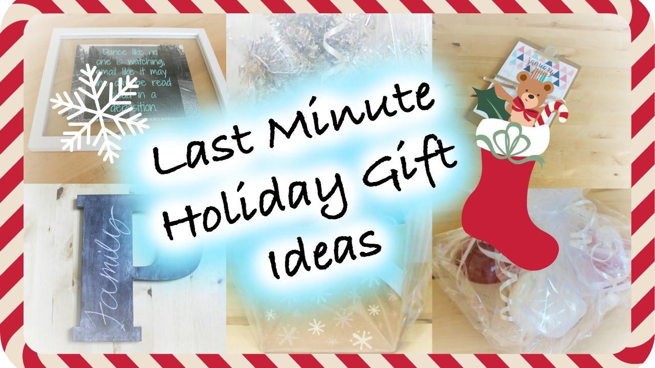 Last Minute Holiday Gift Ideas  DIY Last Minute Holiday Gift Ideas