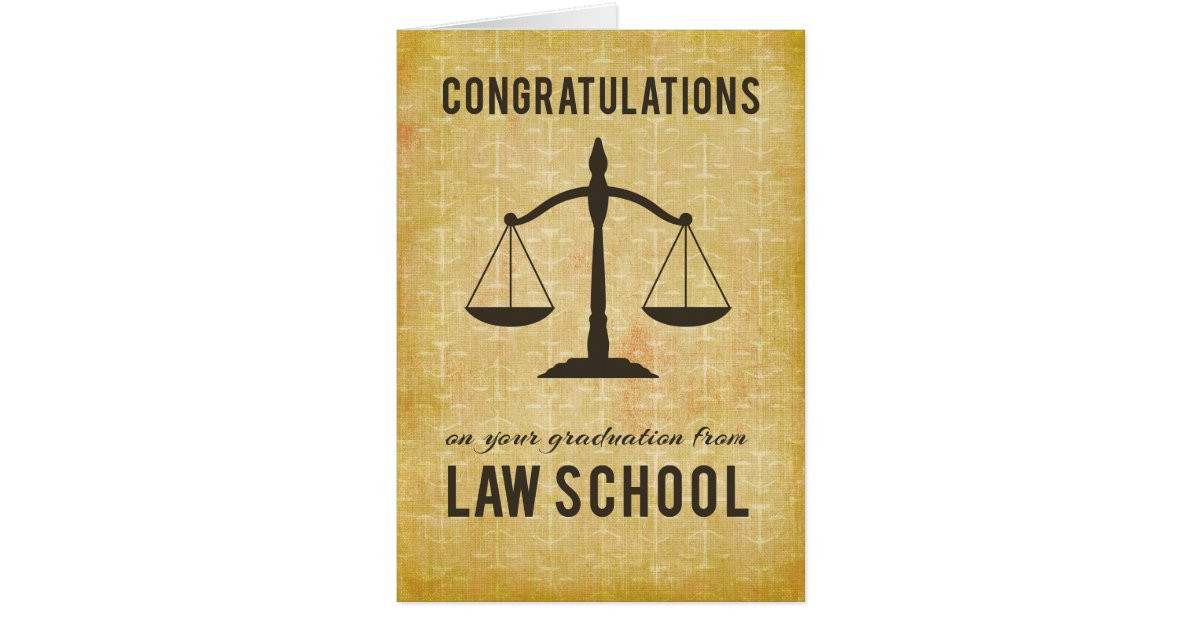 Law School Graduation Quotes  From All of Us Group Law School Graduation Congr Card