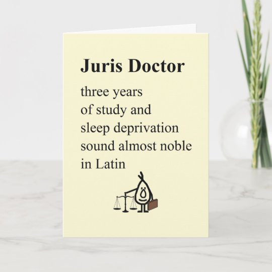 Law School Graduation Quotes  Graduate Poem Card