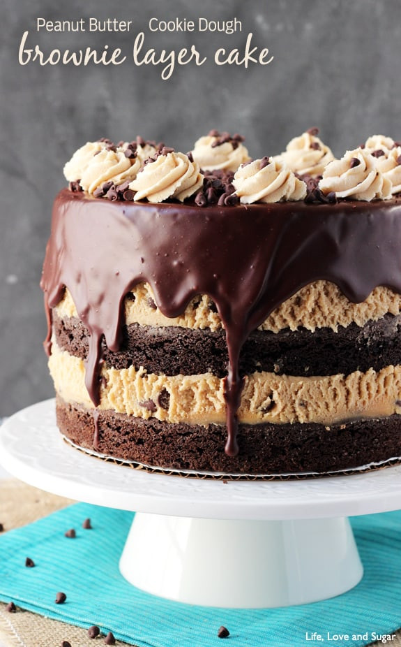 Layered Birthday Cake Recipes  Time to Sparkle Link Party 56