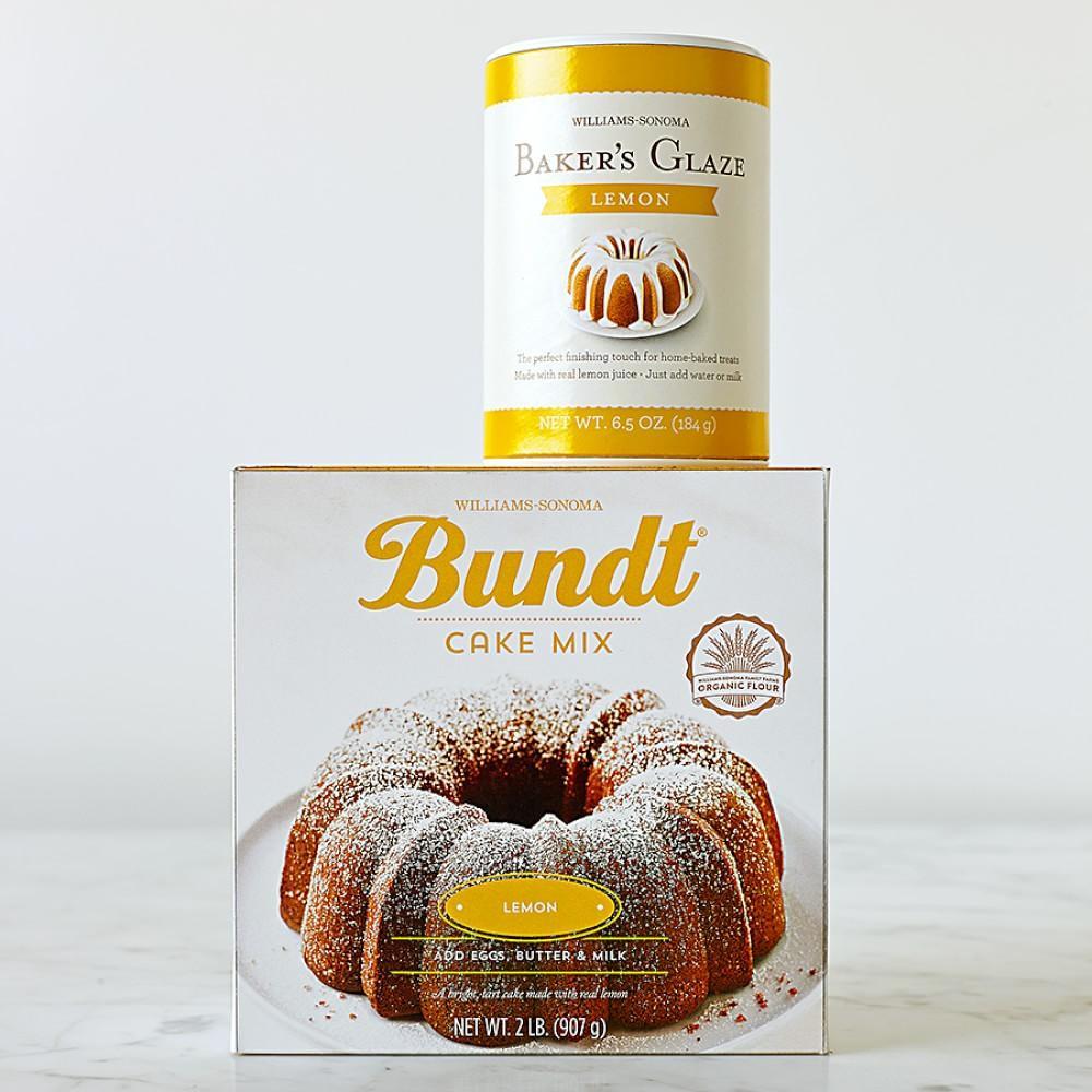 Lemon Bundt Cake From Cake Mix  Williams Sonoma Lemon Bundt Cake Mix