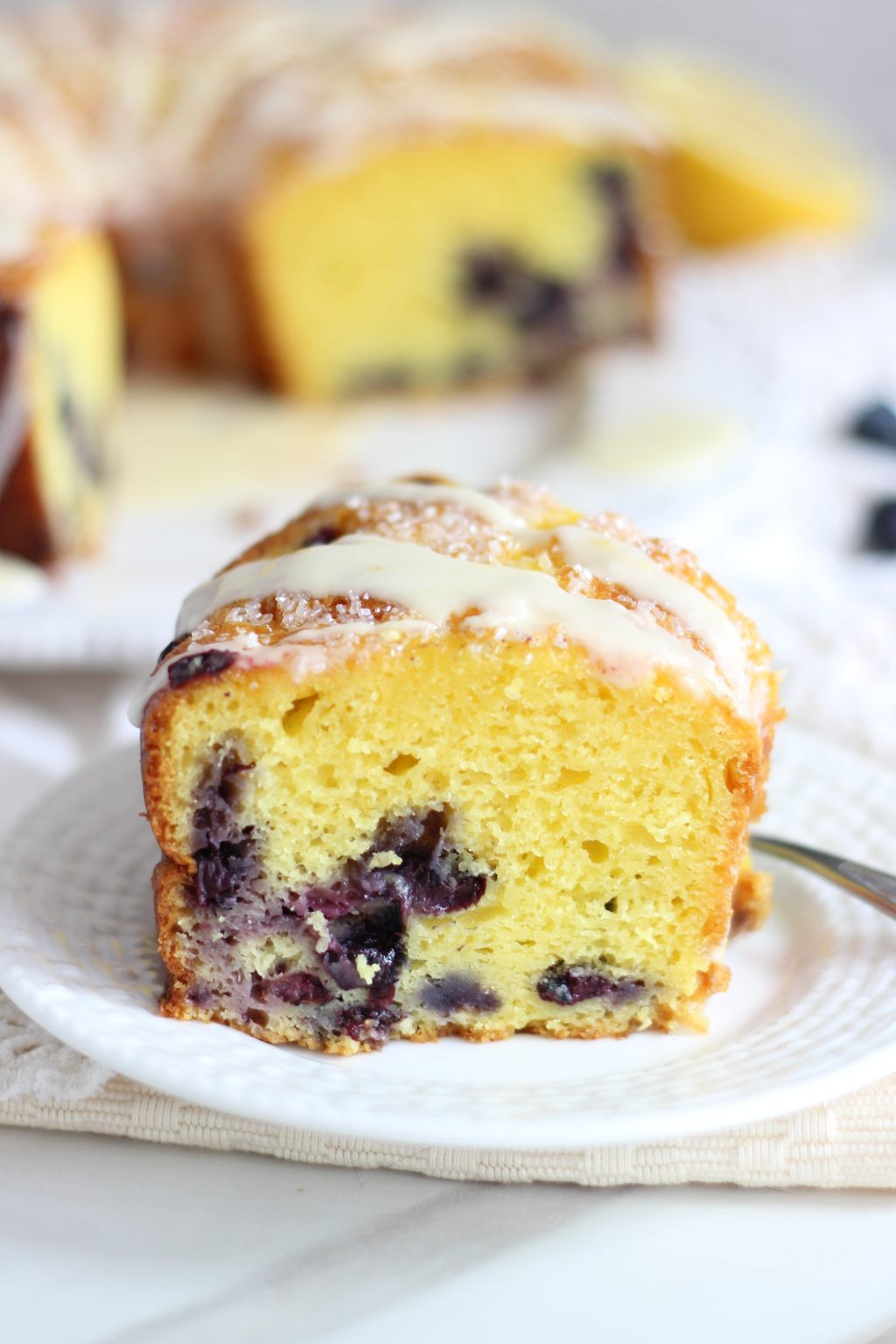 Lemon Bundt Cake From Cake Mix  Lemon Blueberry Bundt Cake with Lemon Glaze