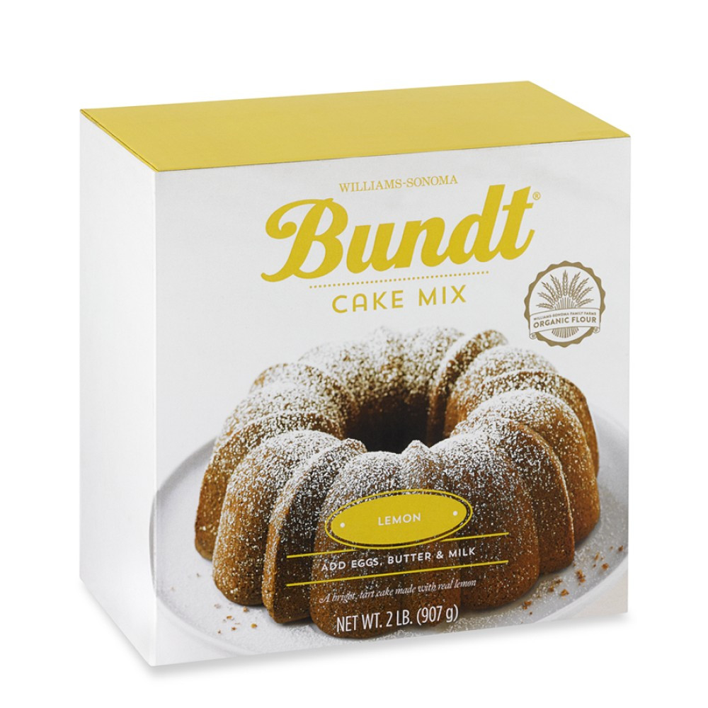 Lemon Bundt Cake From Cake Mix  Williams Sonoma Lemon Bundt¨ Cake Mix