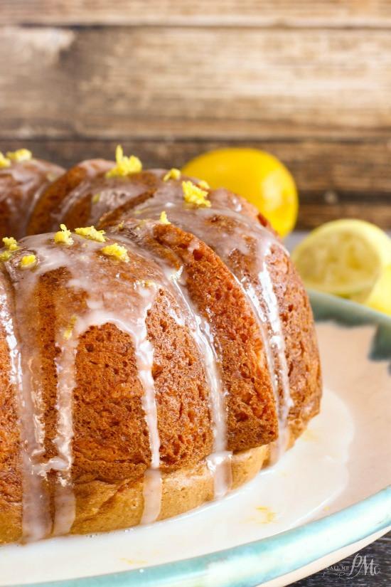 Lemon Bundt Cake From Cake Mix  CREAM FILLED LEMON BUNDT CAKE Call Me PMc