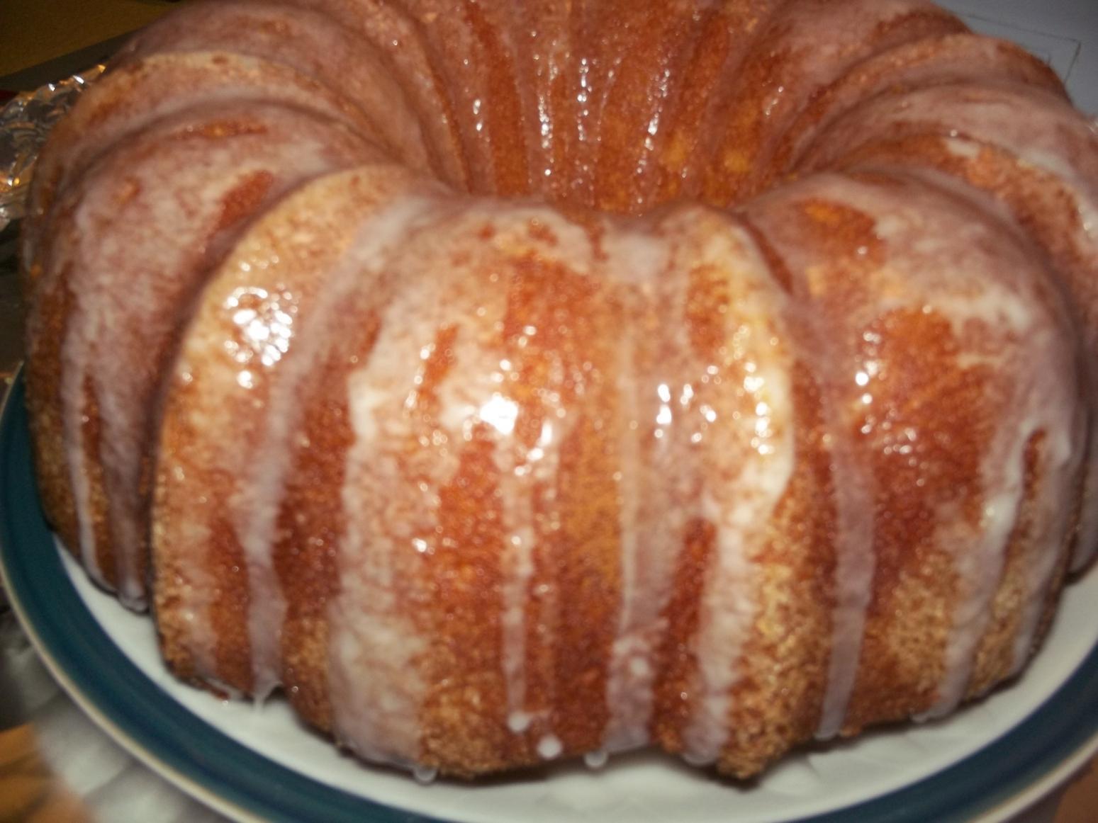 Lemon Bundt Cake From Cake Mix  Janet s Lemon Bundt Cake Recipe