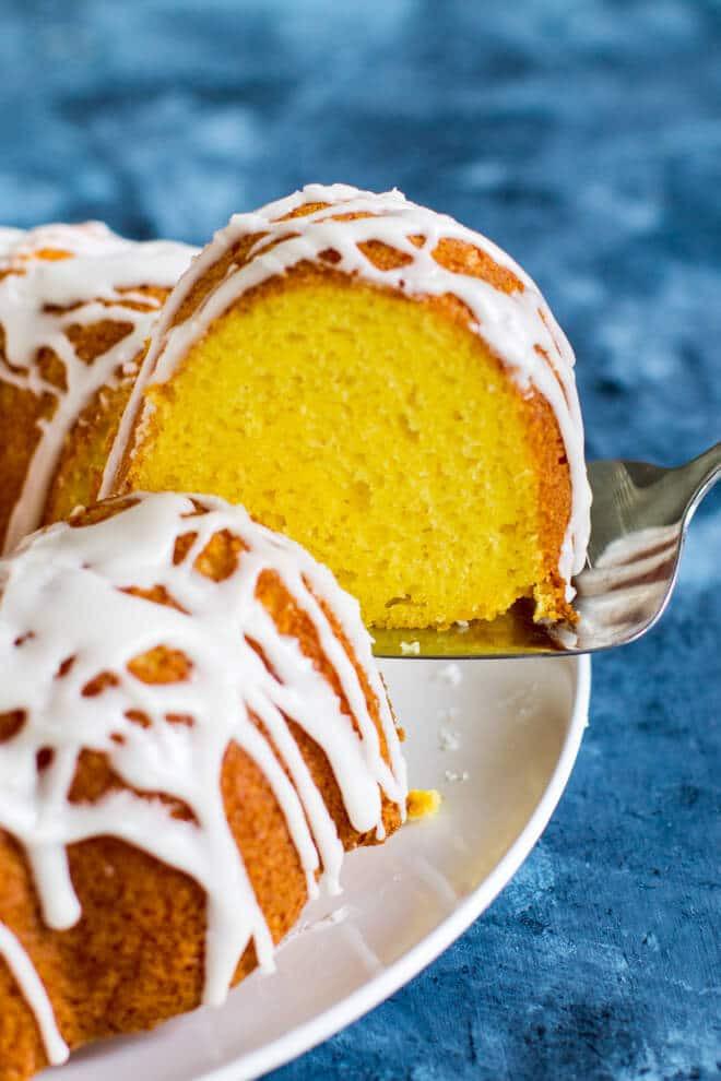 Lemon Bundt Cake From Cake Mix  Lemon Bundt Cake